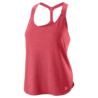 Wilson Competition Flecked Tank Womens Holly Berry WRA771603