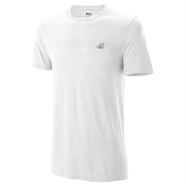 Wilson Competition Seamless Crew Mens White WRA773511