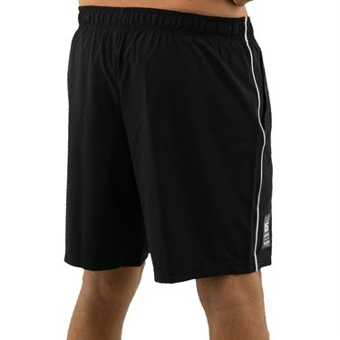 Wilson 2019 US Open Competition 8 inch Short Mens Black/White WRA773804