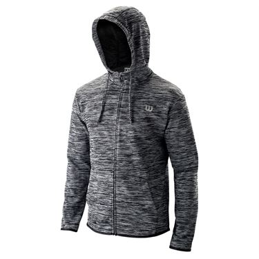 Wilson Training Hooded Jacket Mens Black WRA774301