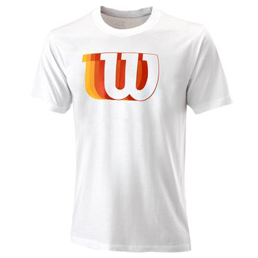 Wilson Blur Tech Tee Mens White WRA779601û