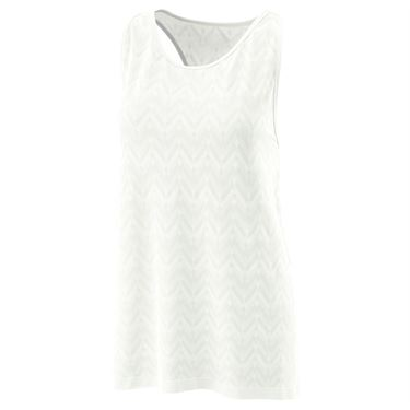 Wilson Power Seamless Tank Womens White WRA780503