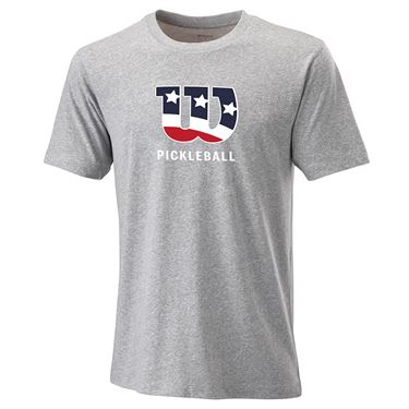 Wilson Pickler Patriot Tech Tee Mens Heather WRA797502