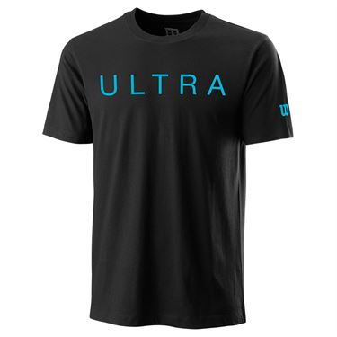 Wilson Ultra Franchise Tech Tee Mens Black WRA798301