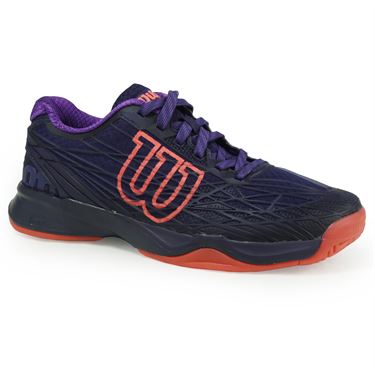 Wilson Kaos Womens Tennis Shoe - Astral Aura/Fiery Coral