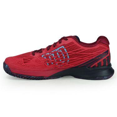 Wilson Kaos Womens Tennis Shoe - Virtual Pink/Evening Blue/Bluebird WRS323240