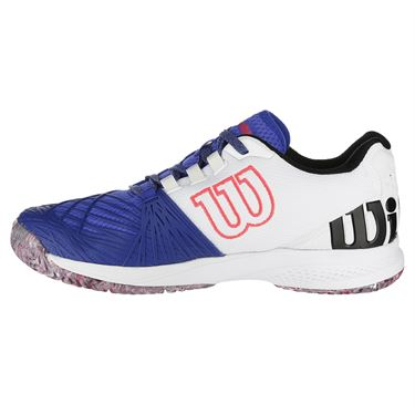 Wilson Kaos 2.0 Mens Tennis Shoe - Blue/White/Red