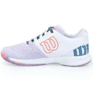 Wilson Kaos 2.0 Womens Tennis Shoe - Lilac/White/Coral