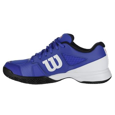 Wilson Rush Pro 2.5 Jr. Tennis Shoe - Dazzling Blue/White