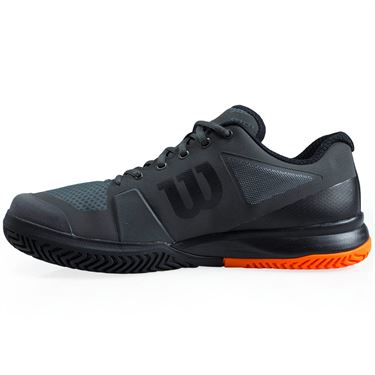 Wilson Rush Pro 2.5 Mens Tennis Shoe - Magnet/Black/Orange