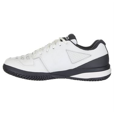 Wilson Rush Comp LTR Mens Tennis Shoe - White/Ebony