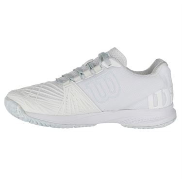 Wilson Kaos 2.0 Womens Tennis Shoe - White/Blue Glow