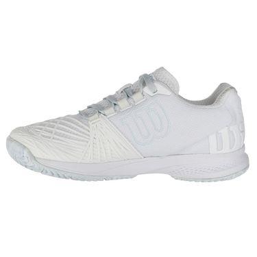 Wilson Kaos 2.0 Womens Tennis Shoe - White/Blue Glow