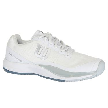 Wilson Rush Pro 3.0 Mens Tennis Shoe - White/Pearl Blue/Bluestone