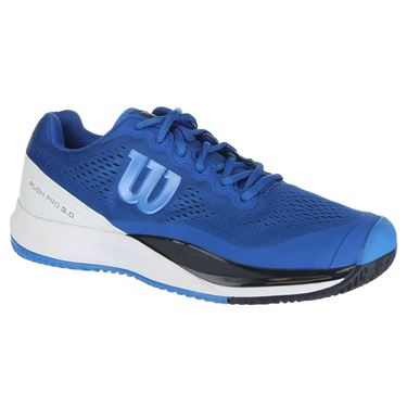 Wilson Rush Pro 3.0 Mens Tennis Shoe - Imperial Blue/White/Brilliant Blue