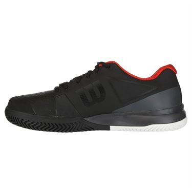 Wilson Rush Pro 2.5 Mens Tennis Shoe 2019 - Black/Ebony/Wilson Red