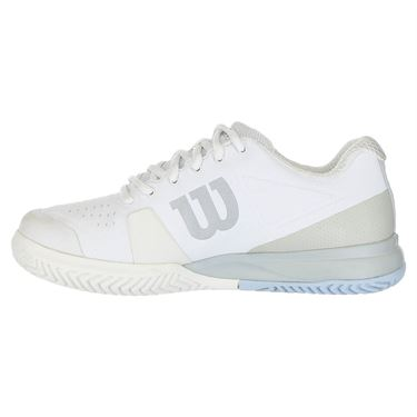 Wilson Rush Pro 2.5 Womens Tennis Shoe 2019 - White/ Pearl Blue/Cashmere Blue