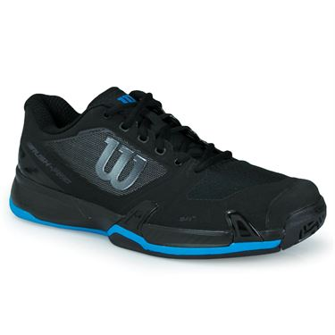 Wilson Rush Pro 2.5 Mens Tennis Shoe - Black/Hawaiian Surf