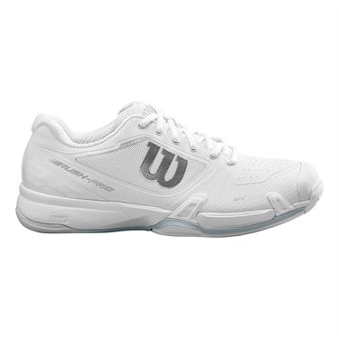 Wilson Rush Pro 2.5 Mens Tennis Shoe White/Pearl Blue WRS326030