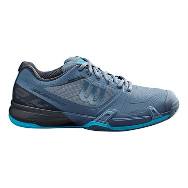 Wilson Rush Pro 2.5 Mens Tennis Shoe Flint Stone/Ebony/Ultra Blue WRS326040