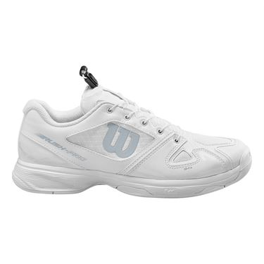 Wilson Rush Pro QL Junior Tennis Shoe White/Pearl Blue WRS326220