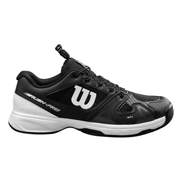 Wilson Rush Pro QL Junior Tennis Shoe Black/White WRS326230