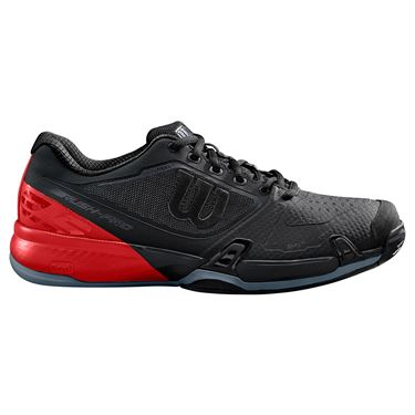 Wilson Rush Pro 2.5 Mens Tennis Shoe 2019 - Black/Red/Flint