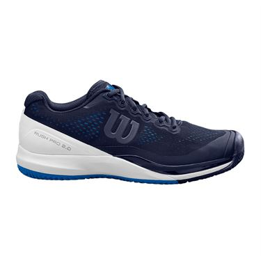 Wilson Rush Pro 3.0 Mens Tennis Shoe Peacoat/White/Lapis Blue WRS326430
