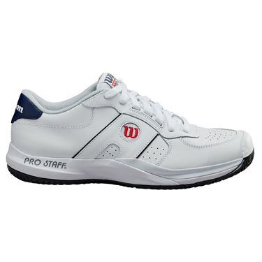 Wilson Pro Staff Mens Tennis Shoe White/Peacoat WRS326900