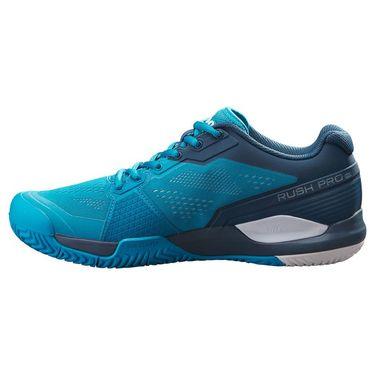 Wilson Rush Pro 3.5 Mens Tennis Shoe Barrier Reef/Majolica Blue/White WRS327150