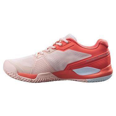 Wilson Rush Pro 3.5 Womens Tennis Shoe Tropical Peach/Hot Coral/White WRS327320