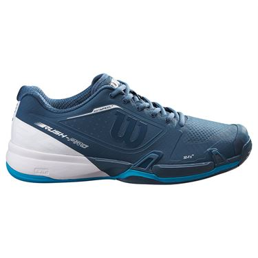 Wilson 2021 Rush Pro 2.5 Mens Tennis Shoe Majolica Blue/White/Barrier Reef WRS327370