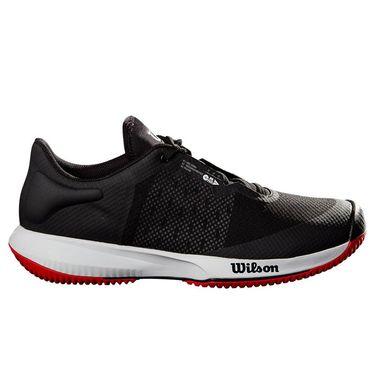 Wilson Kaos Swift Mens Tennis Shoe Black/Pearl Blue/Wilson Red WRS327530