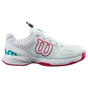 Wilson Kaos QL Junior Tennis Shoe Soothing Sea/White/Sangria WRS327930