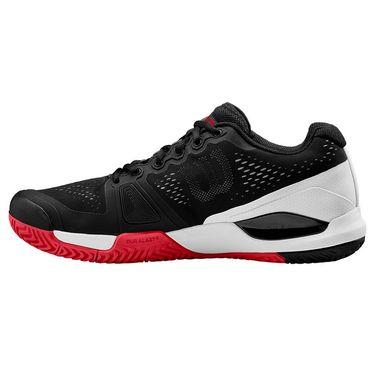 Wilson Rush Pro 3.0 Mens Pickleball Shoe Black/White/Infrared WRS328230
