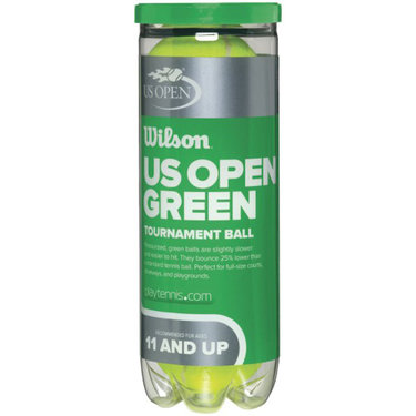 Wilson US Open Green Tournament Transition Tennis Balls (Can)