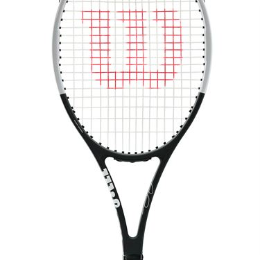Wilson Pro Staff Black & White RF 97 Autograph DEMO RENTAL <br><b><font color=red>(DEMO UP TO 3 RACQUETS FOR $30. THE $30 FEE CAN BE APPLIED TO 1ST NEW RACQUET PURCHASE OF $149+)</font></b>