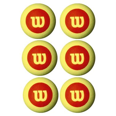 Wilson Starter Foam Ball 6 Pack WRZ259800