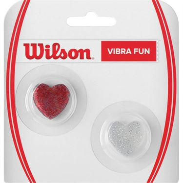 Wilson Vibra Fun Vibration Dampener - Glitter Heart
