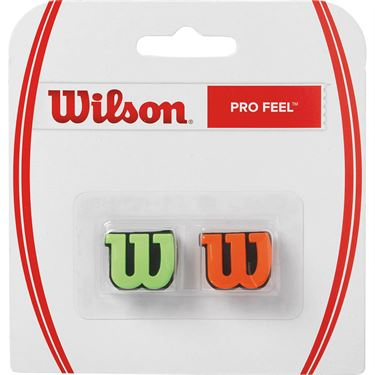 Wilson Pro Feel Vibration Dampener - Green/Orange