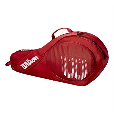 Wilson Junior 3 Pack Tennis Bag - Red
