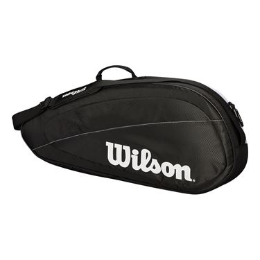 Wilson Federer Team 3 Pack Tennis Bag - Black/White