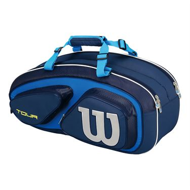 Wilson Tour V Blue 6 Pack Tennis Bag