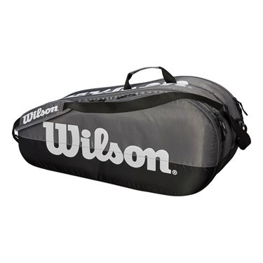 Wilson Team 6 Pack Tennis Bag - Grey