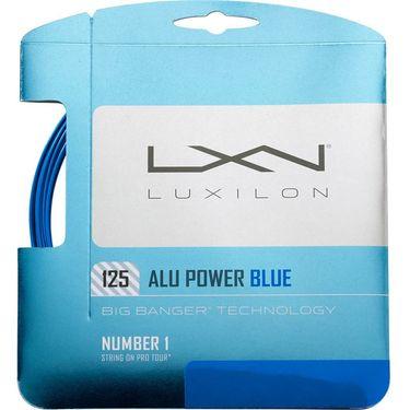 Luxilon ALU Power 125 Blue Tennis String