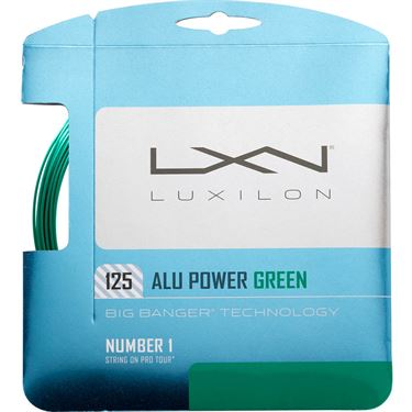 Luxilon ALU Power 125 Green Tennis String