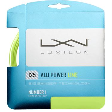 Luxilon ALU Power 125 Lime Tennis String
