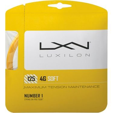 Luxilon 4G Soft 125 Tennis String