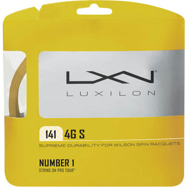 Luxilon 4G S 141 Tennis String