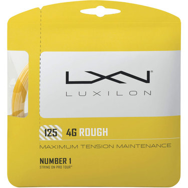 Luxilon 4G Rough 125 Tennis String